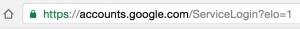 Google Secure URI